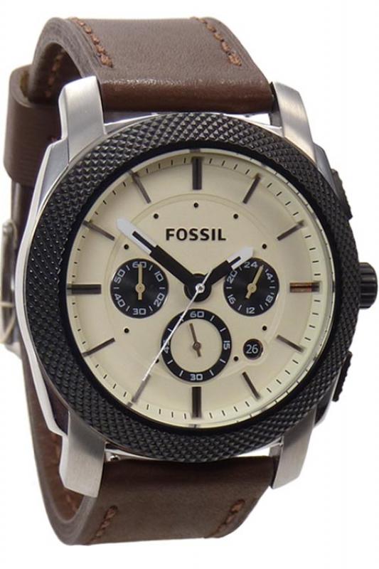 fossil uhr herrenuhr chronograph fs4732 sport lederarmband. Black Bedroom Furniture Sets. Home Design Ideas