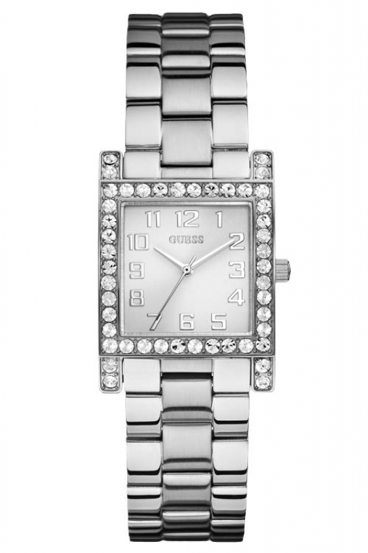 Damenuhren silber guess  Guess Uhr Damenuhr W0128L1 Stylist silber, 126,75 €