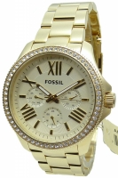 Fossil Uhr Damenuhr Multifunktion AM4482 Retro Traveler gold