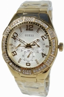 Guess Uhr Damenuhr Multifunktion W0729L2 Ladies Watch gold