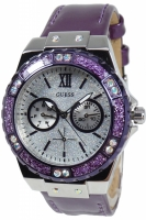 Guess Uhr Damenuhr Multifunktion W0775L6 Ladies Sport lila