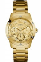 Guess Uhr Damenuhr Multifunktion W0778L2 Studio gold