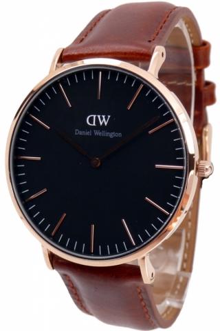 uhren-onda.de Daniel Wellington Uhr Uhren Herrenuhr DW00100124 Classic Black St.Maves
