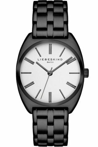 uhren-onda.de Liebeskind Berlin Uhr Uhren Damenuhr LT-0008-MQ Metal schwarz