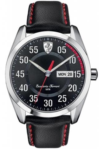 uhren-onda.de Scuderia Ferrari Uhr Uhren Herrenuhr 0830173 D50 schwarz