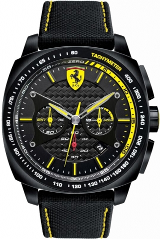 uhren-onda.de Scuderia Ferrari Uhr Uhren Herrenuhr Chronograph 0830165 Aro Evo