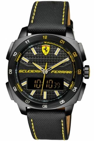 uhren-onda.de Scuderia Ferrari Uhr Uhren Herrenuhr Chronograph 0830170 Aro Evo