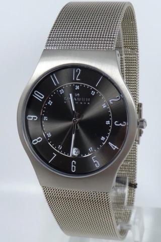 uhren-onda.de Skagen Denmark Uhr Uhren Herrenuhr 233XLTTM Slimline Titanium