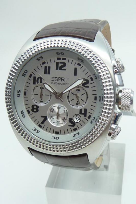 Momentum Uhr Esprit Chronograph Brown Herrenuhr Es900491002 W9YEH2IbeD