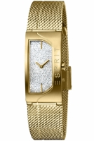 Esprit Uhr Uhren Damenuhr ES1L045M0215 Houston Glam gold...