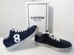 d91e9e6c7828d1 Gattino G1416-172-46CO-AC-0000 Jungenschuhe Sneaker blau Wildleder Gr.