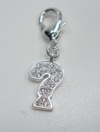 Guess Charm Charms Anhänger Fragezeichen UBC11006