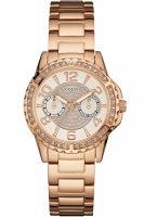 Guess Uhr Damenuhr Multifunktion W0705L3 Sassy Ladies...