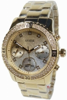 Guess Uhr Damenuhr Multifunktion W0774L5 Confeti gold