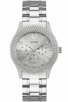 Guess Uhr Damenuhr Multifunktion W1097L1 Bedazzle silber