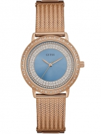 Guess Uhr Damenuhr W0836L1 Willow rosegoldfarben