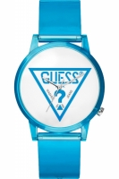 Guess Originals Uhr Uhren Damenuhr V1018M5 Hollywood blau