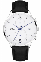 s Oliver Uhr Herrenuhr Chronograph SO-4126-LC